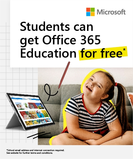 Microsoft 20926 MS EDU Flexischools banners V3 Offers page 450 x 540