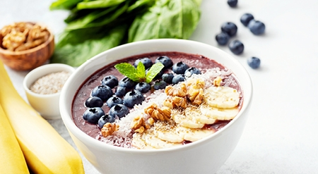 News trc how to make breakfast smoothie bowl